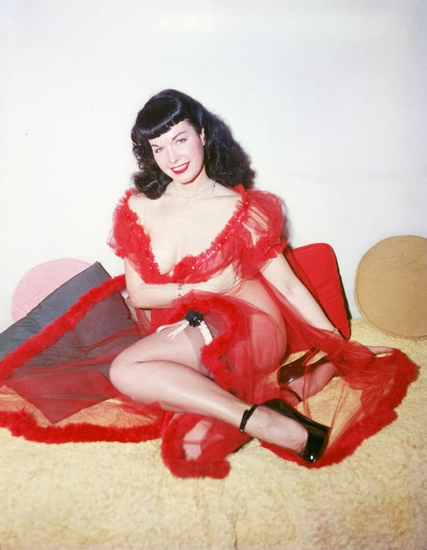 What if I make Epic photoshoot in honor to the most remarkable best pinups of all time Bettie Page What