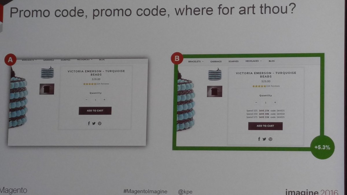 SynergyGuy: @kpe promo codes in headers are often hidden@magentoimagine https://t.co/S7vckxfh1i