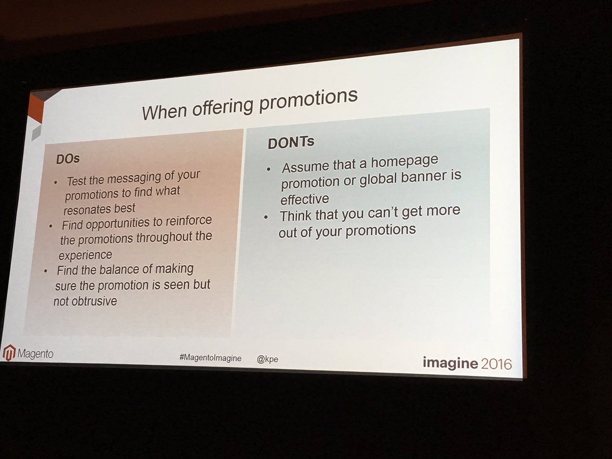 garymediaspa: Blue Acorn tips on a/b testing promotions #MagentoImagine #CRO @kpe @mediaspa https://t.co/jxkqVZJ8LO