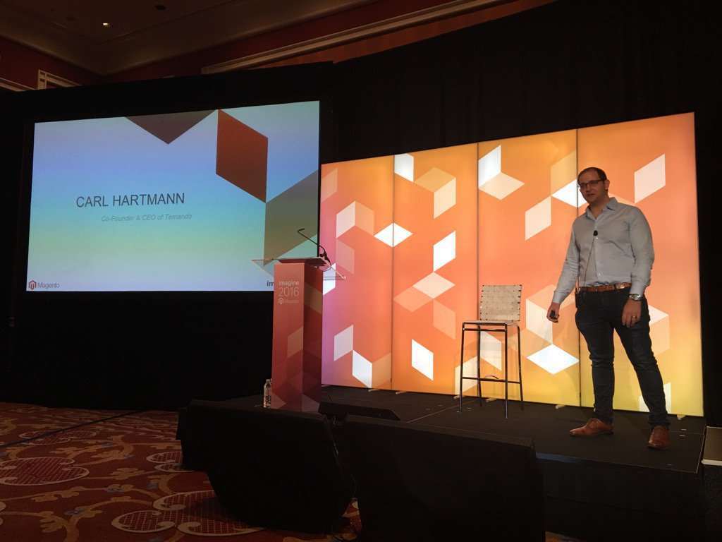 temando: The shipping revolution will not be organized #magentoimagine https://t.co/j4OOqiQ5U2