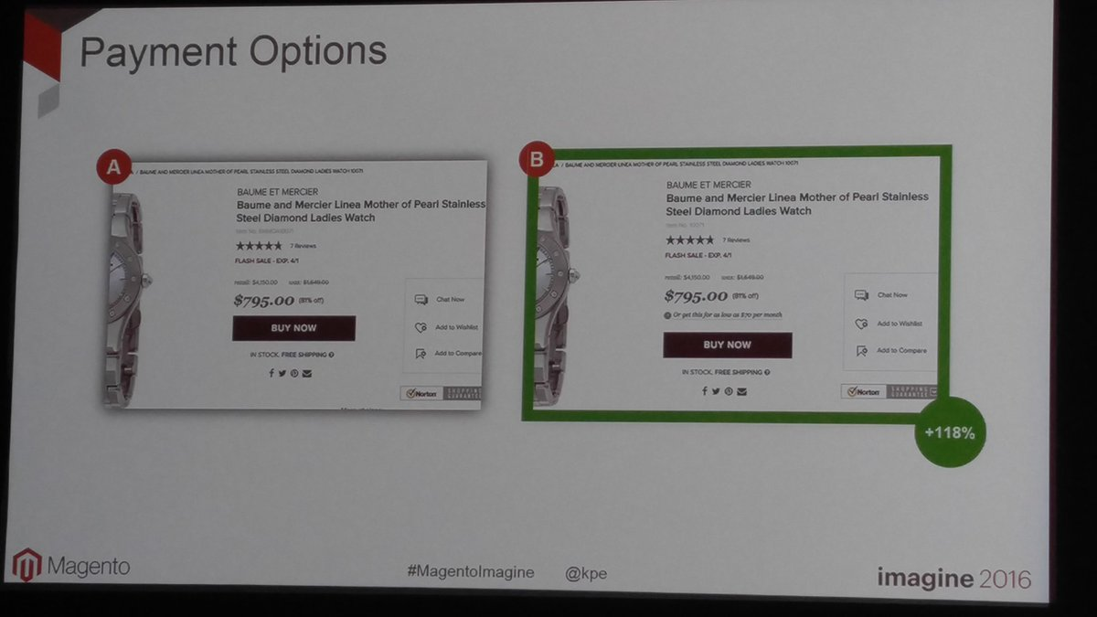 SynergyGuy: Payment options help @kpe #SplitTest #marketing @magentoimagine @WorldSynergyMkt https://t.co/rYpt8MdH6v