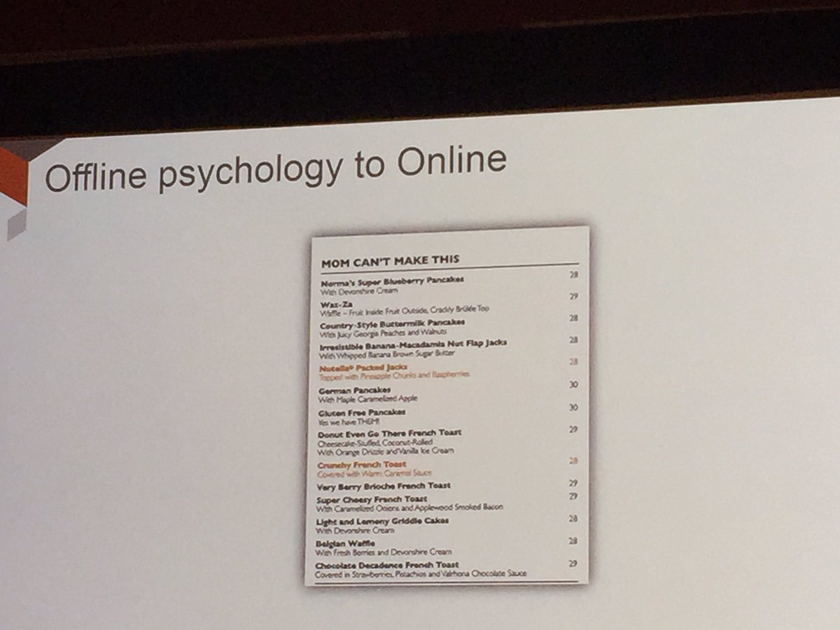 fantasydreamer: Making me hungry learning about A/B testing 😜 #MagentoImagine @kpe https://t.co/75WmQthtak