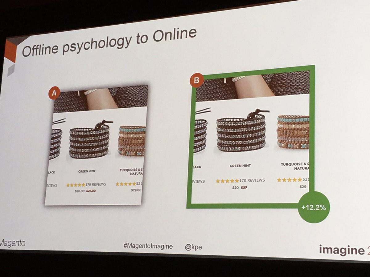 garymediaspa: Lose those decimal places! #MagentoImagine #CRO @kpe@mediaspa https://t.co/NvDA9I96eO