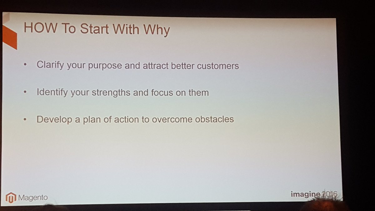 mgoldman713: How to start with why people should buy from you... @Robofirm #MagentoImagine https://t.co/aQTxoFv0by