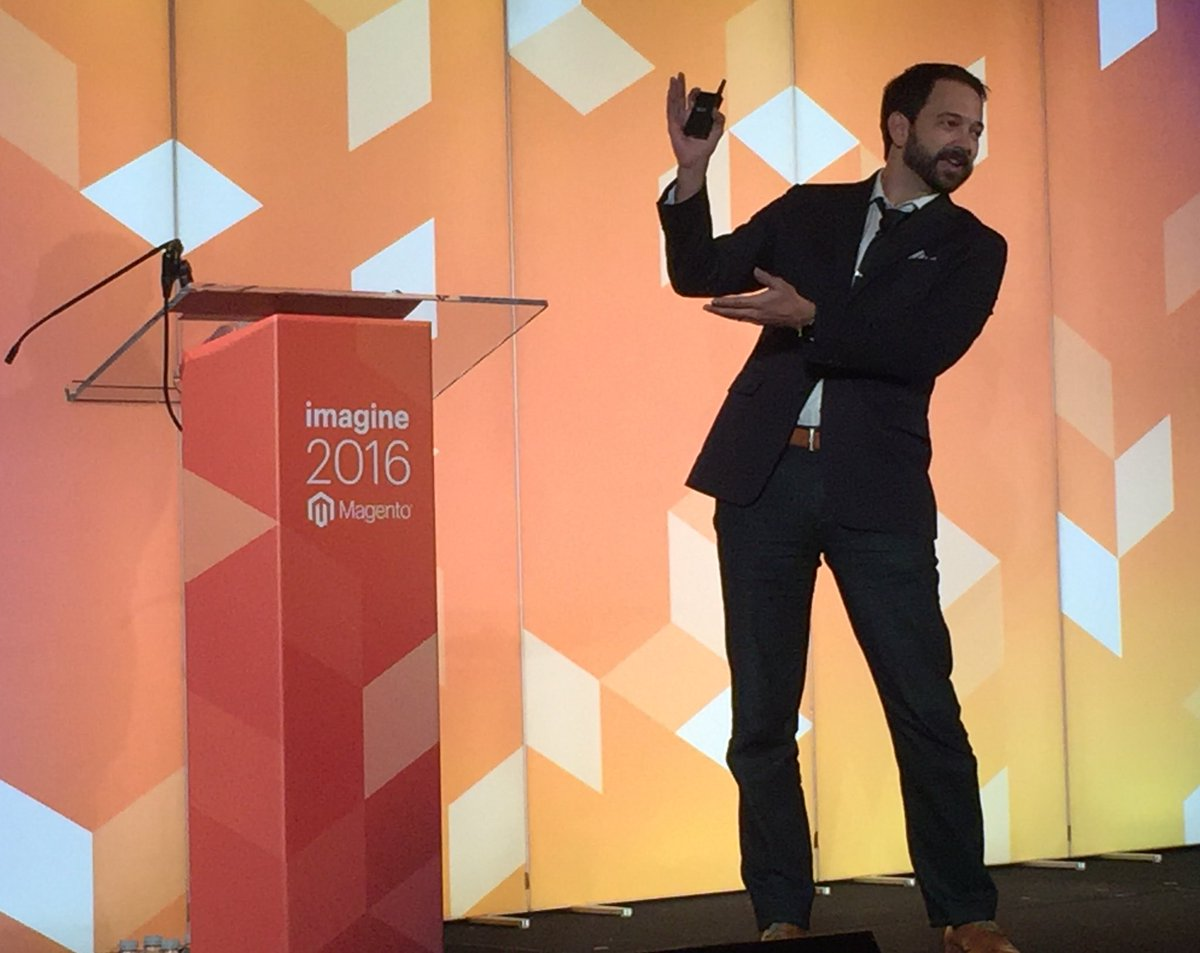 annhud: Don't expect huge differences in every #abtest - 7-8% uplift is great & will compound over time @kpe #MagentoImagine https://t.co/fbDPo7gfoT