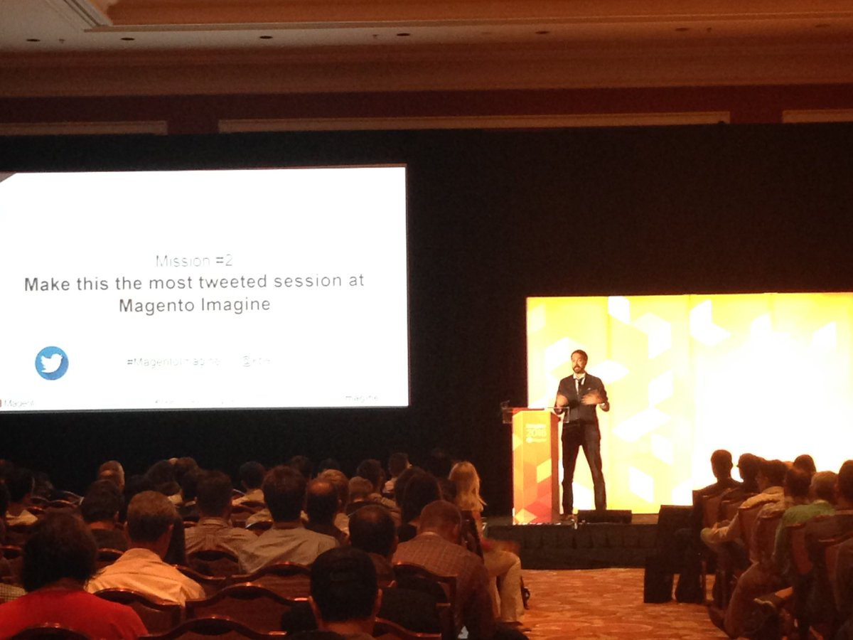 SheroDesigns: #ABtesting is a long term investment. You can learn from all scenarios @blueacorn @kpe #magentoimagine https://t.co/ZnkbXRZkI4