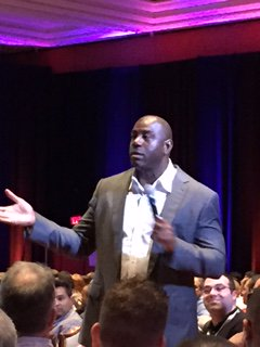 Nextopia: Great Keynote from @MagicJohnson at #MagentoImagine #Imagine2016! https://t.co/gwcBoBbQVj