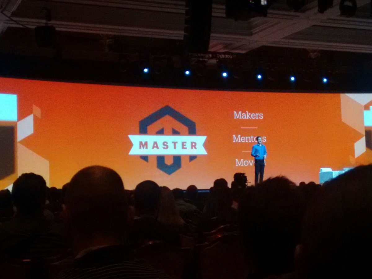 i95Dev: Masters program announcement! Recognizing developers contribution at #MagentoImagine #Imagine 2016 https://t.co/ph456IeR2O