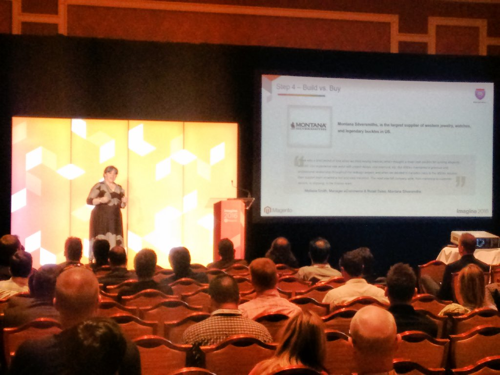 agrawal_ankit: i95dev talking about the integration at Magento Conference #AnuRocks  #MagentoImagine https://t.co/QJv7HlcBLa