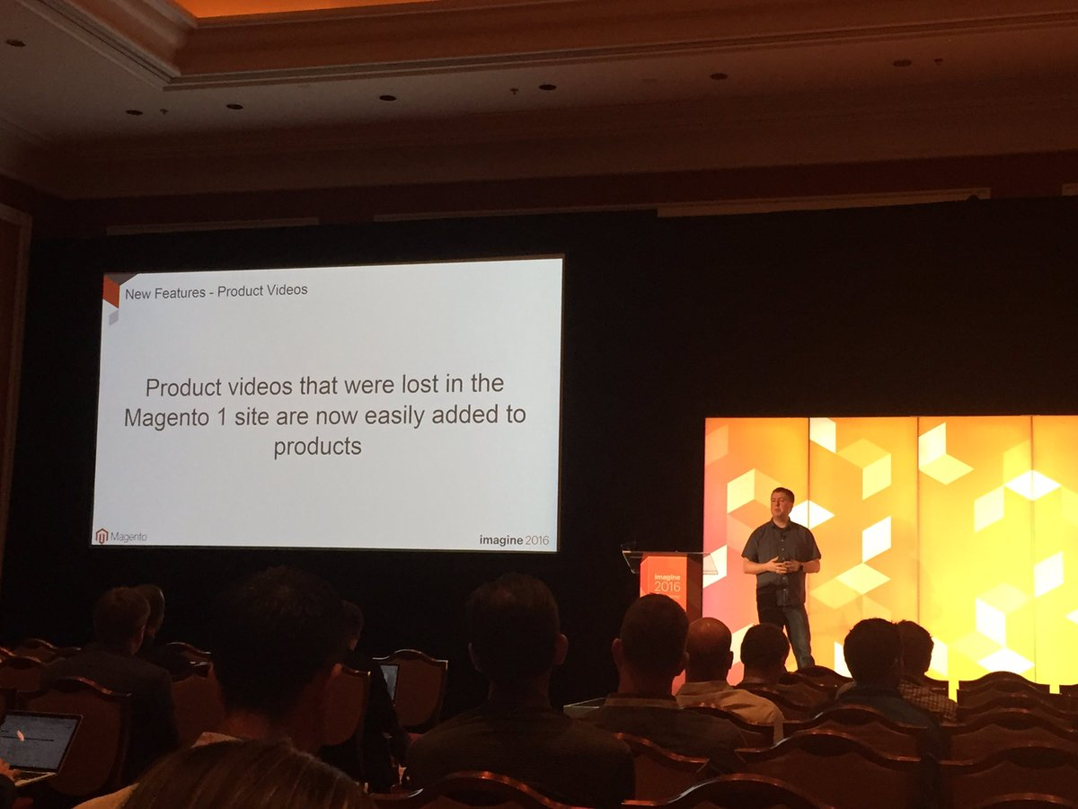 markabrinton: Reach buyers with compelling video content on Magento 2 with no custom development - @JoshuaSWarren #MagentoImagine https://t.co/6E3NNHWbuU