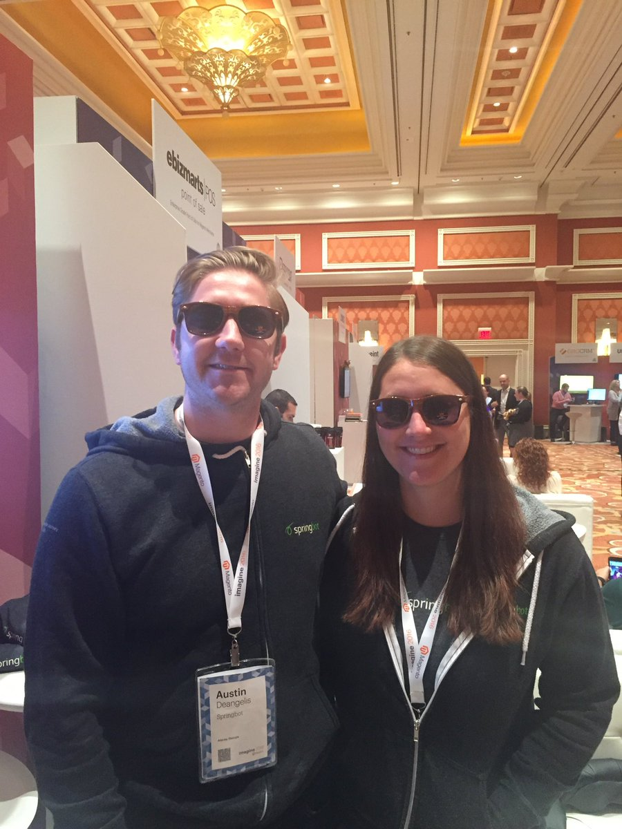 springbot: .@Magento's future so bright, we gotta wear shades. #MagentoImagine https://t.co/2Xzu8A8M2J