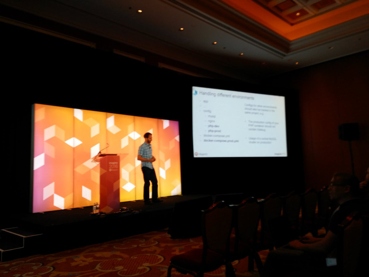 tutnix: @andreaskoch about dockerization at #MagentoImagine https://t.co/Uz4C10D2yu