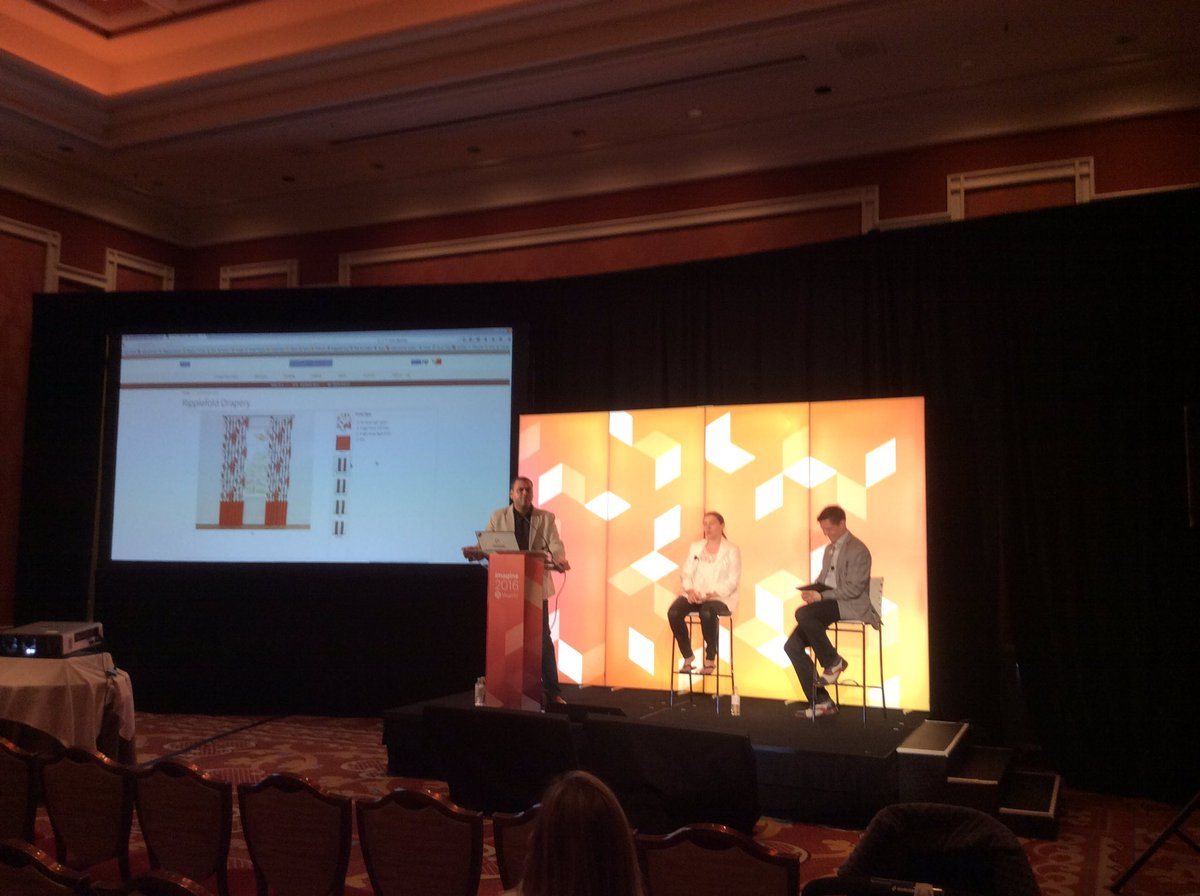 magento: Thank you @LoomDecor for telling your Day in the Life of #magento2 story @Perficient #MagentoImagine https://t.co/KgDWjHSi8A
