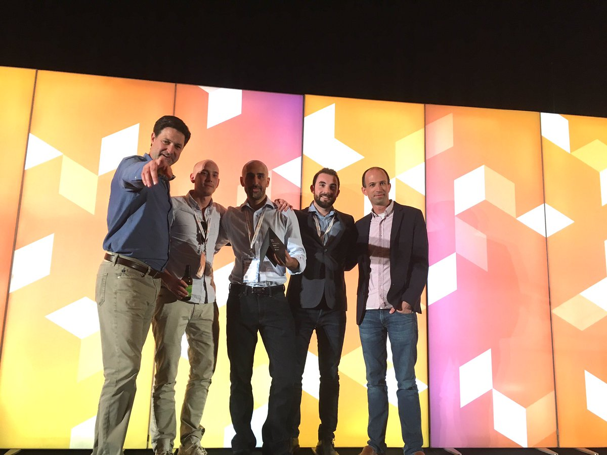 NostoSolutions: Delighted to win the @Magento Shooting Star Award at #MagentoImagine!! https://t.co/scqJDpf1KV