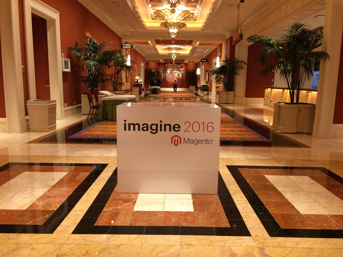 Hotlander: It's a wrap! Thank you @magento for the great event! You've done a great job #MagentoImagine https://t.co/bUqV3ZMDVp