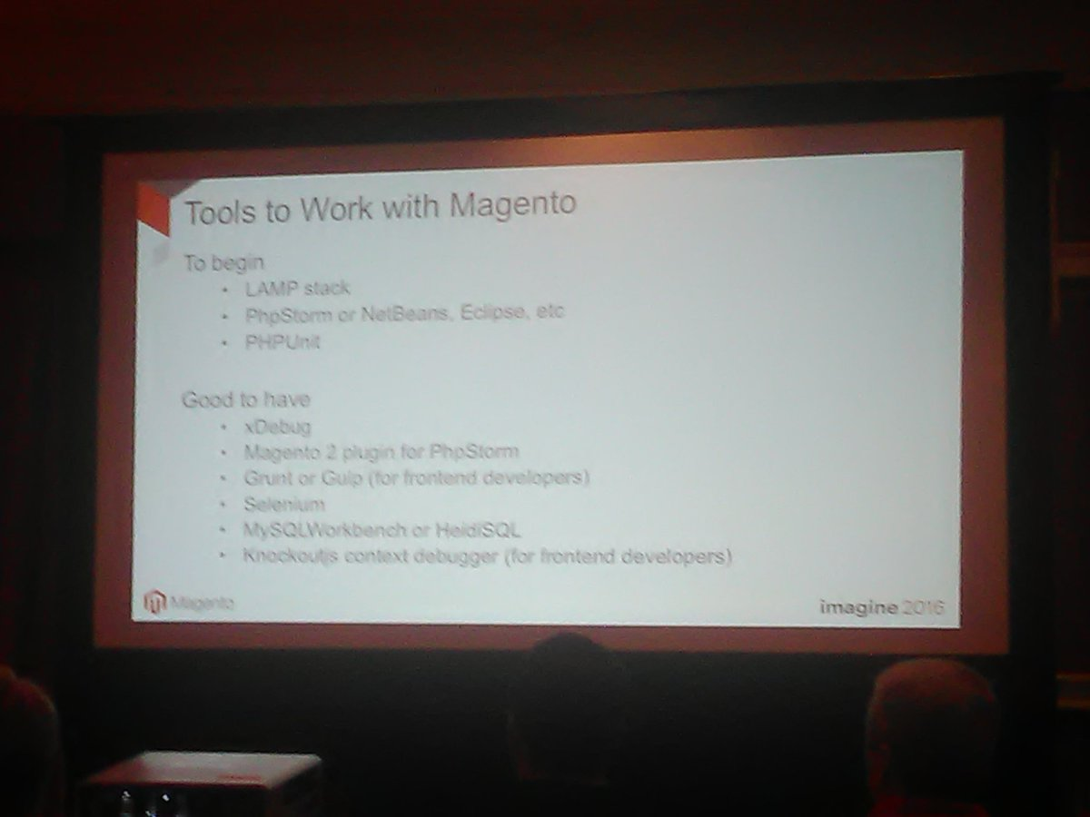 RLTSquare: Right from the horse's mouth at #MagentoImagine https://t.co/ShcosufOl0