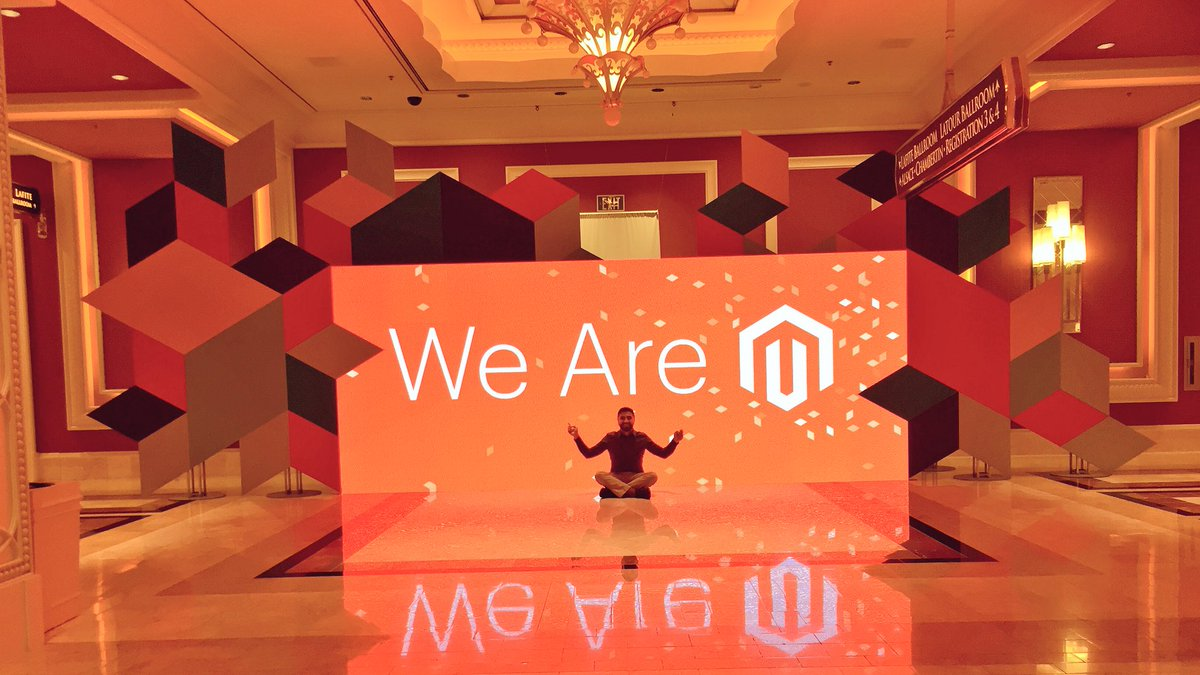 KFlogood: I can't believe it's just about over. So proud of the @magento team and community! #MagentoImagine https://t.co/v4xNYH4Dns