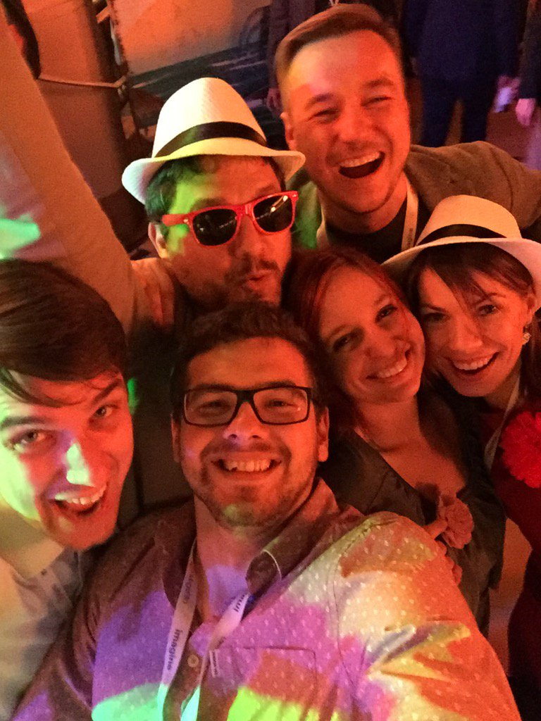 slkra: We are #magento! Great #MagentoImagine this year. Will miss you all @molme @ignacioriesco @agaltsow @bennolippert https://t.co/sFHiWqaGHY