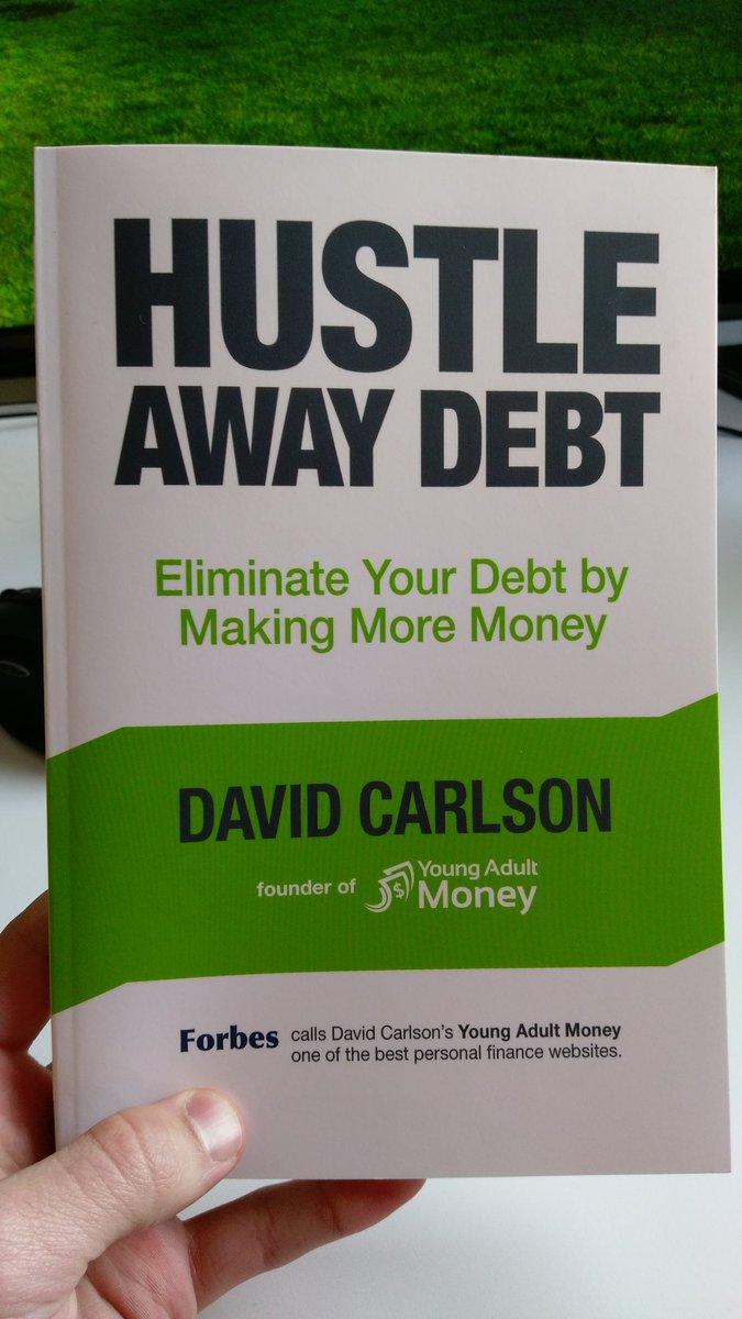 Just got my copy of @davidcarlson1 book from @amazon ! #hustleawaydebt https://t.co/3k9VUexETT