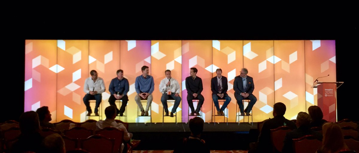 tinktaylor: Wow that's a great panel. @magento exe team #MagentoImagine partner summit. Thanks for a fantastic show team https://t.co/kXGRXmrLnw