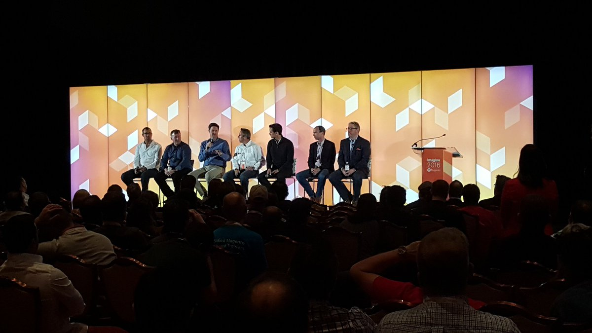 magento: Q&A with the executive team at the packed Partner Summit #MagentoImagine https://t.co/2t2vRzqYZP