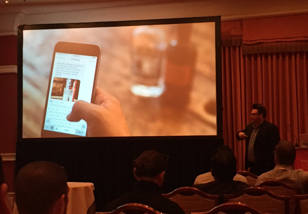 annhud: We spend twice as long in chat than social media - business & commerce is done there @drinkeasyapp #MagentoImagine https://t.co/8hqKrfct79