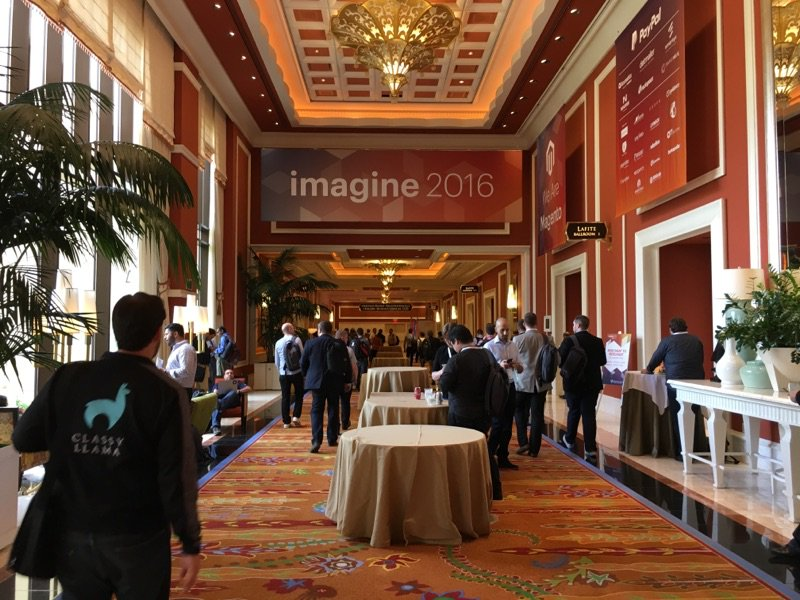 kensium: We came. We spoke. We shared. Until next time @magento  #MagentoImagine https://t.co/0NKHRP795N
