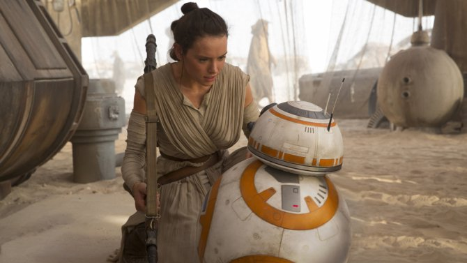 'Star Wars: The Force Awakens' Dominates All Three Disc