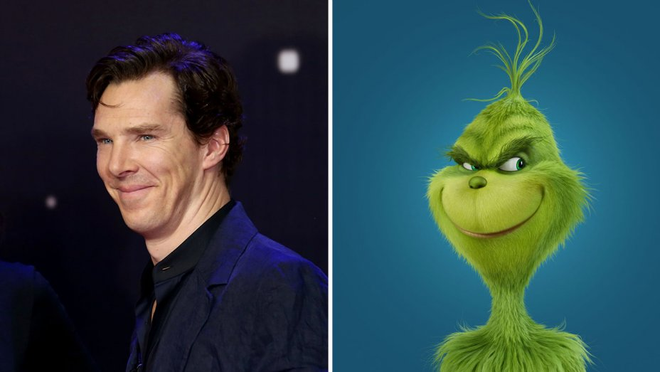 The Grinch finds its voice in Benedict Cumberbatch