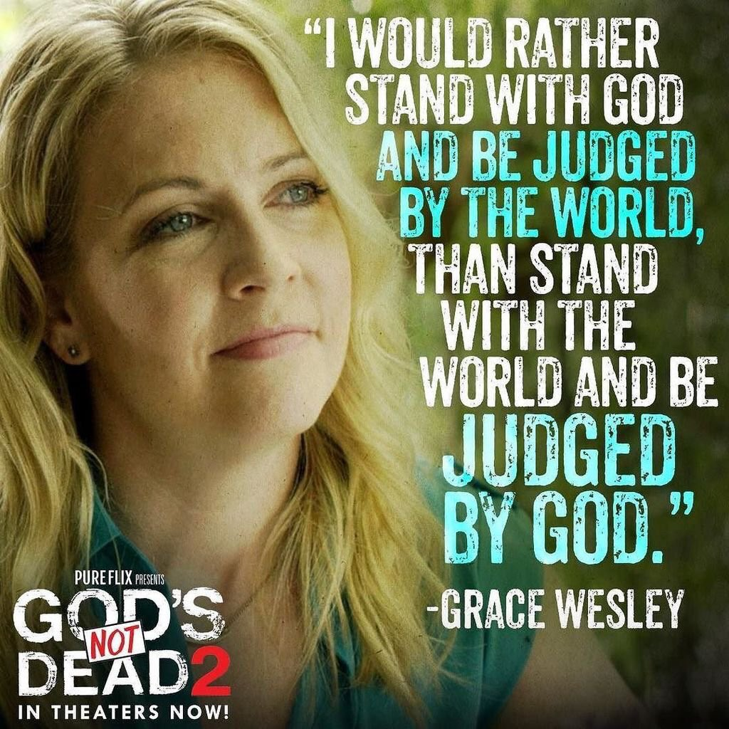 God's Not Dead 2 with @MelissaJoanHart in theaters this weekend! Check out our friend @LeeStrobel's scene in it! https://t.co/wcGTePVyae