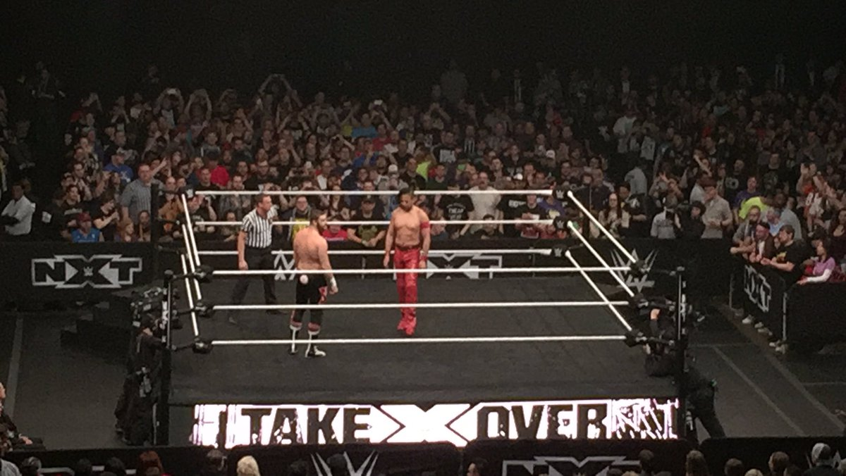 Holy shit dude #NXTTakeOver https://t.co/44DlvdcVGV