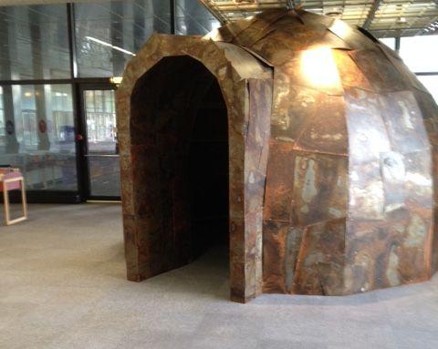 Mais c'était bien-sûr l'igloo de la @bibliothequeBSI jeunesse ! #zoomMW #MuseumWeek https://t.co/qT3WW4WTVe
