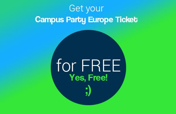 Claim your scholarship to get your free ticket to #CPEU4 https://t.co/Dbd8gFYHhL  #campusparty #thenetherlands https://t.co/AQkDMYrQs0