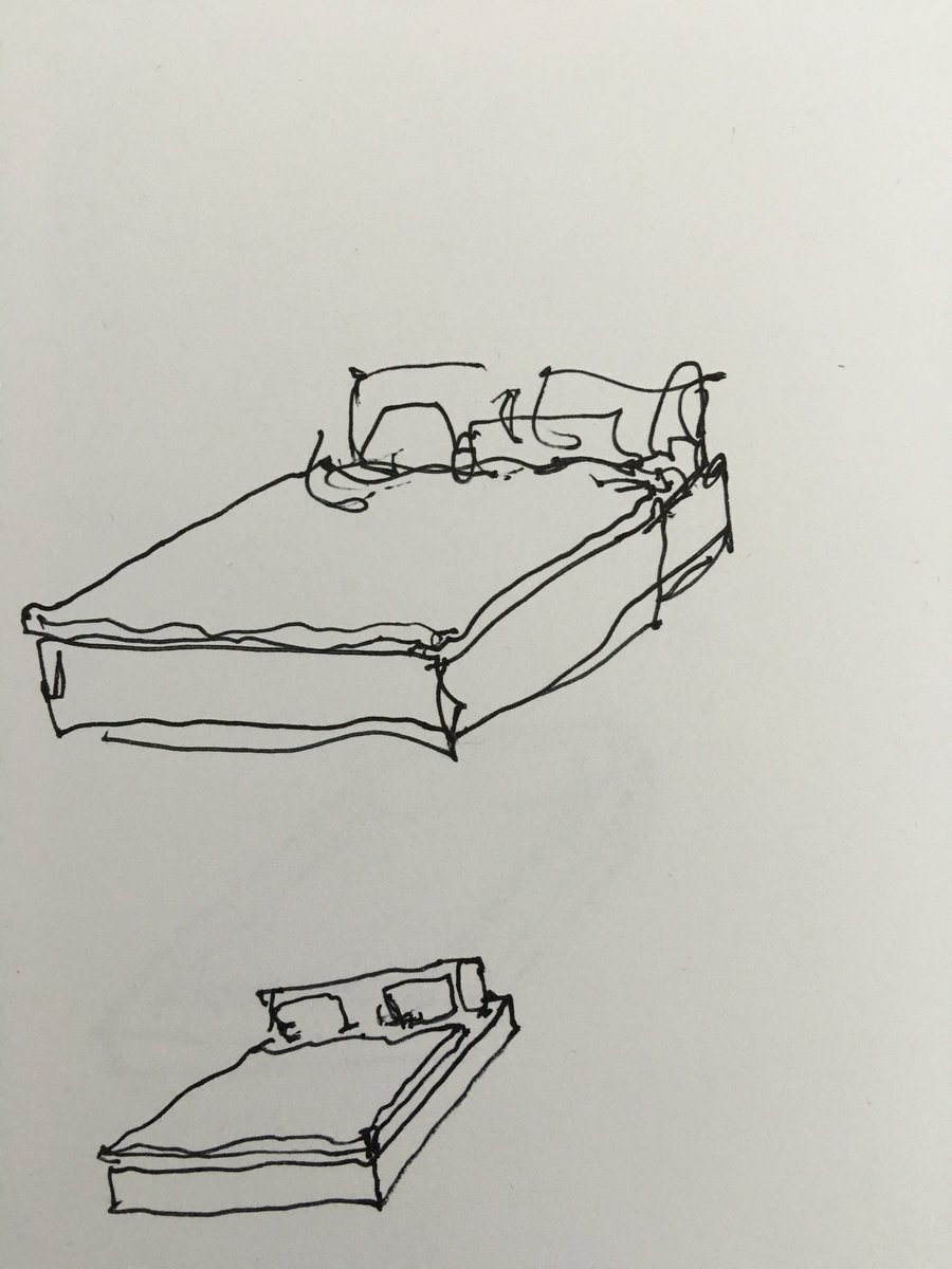 I've been trying to figure out the bed design for the master bedroom at our Hidden Hills compound... https://t.co/aEPqoBGY4b