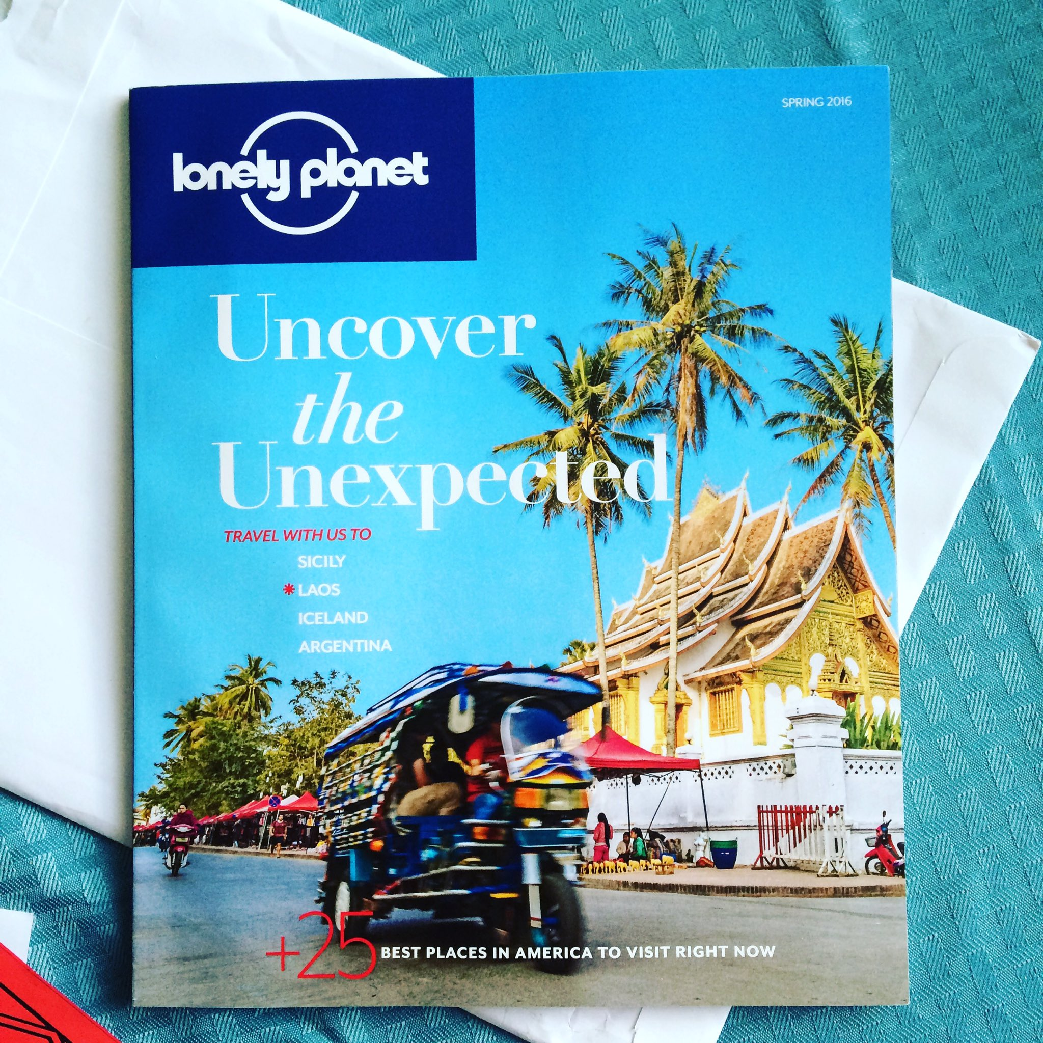 Can't wait to read this! Look out for my review 🌎✈️ @lonelyplanet @lonelyplanetUSA #travel #blogger #goodreads https://t.co/o42ij1EyV1