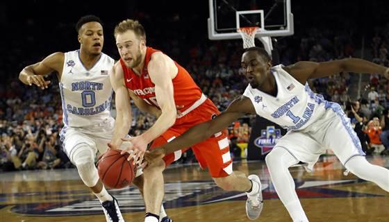 BREAKING: North Carolina beats Syracuse to head to NCAA men's basketball championship game