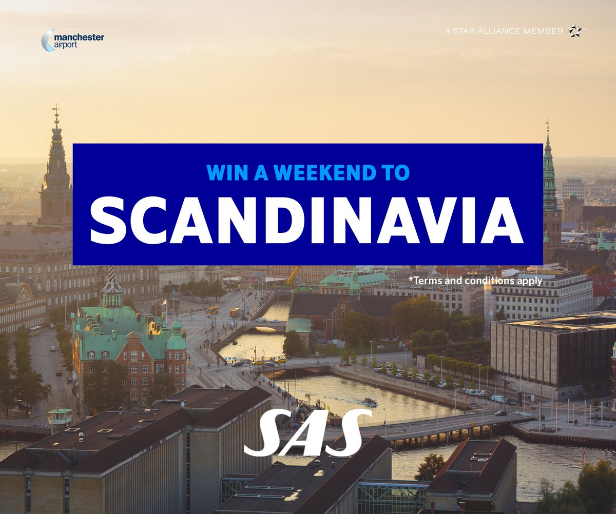 To celebrate 50 years of flying with @SAS enter our comp to WIN a holiday to Scandinavia