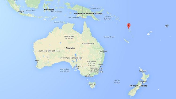 Terremoto 7,2 grados sacude las islas Vanuatu en el Pacífico Sur el 3 de Abril 2016
