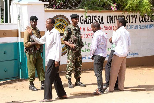 Healed from killings, university is back in business