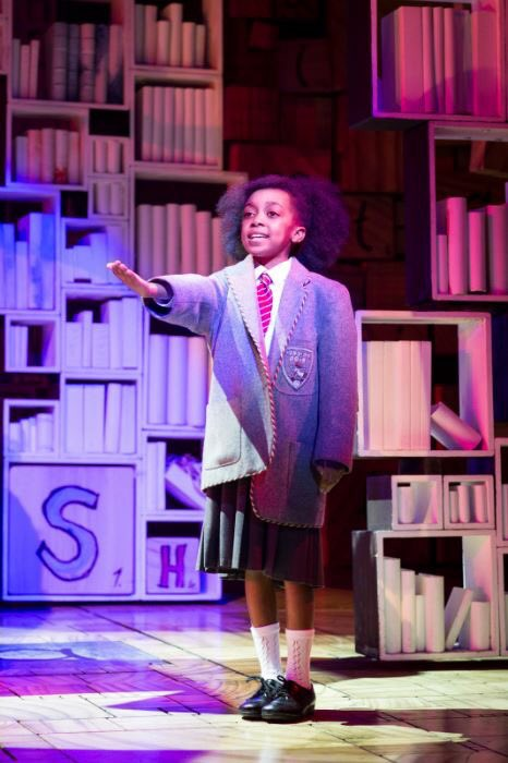 Congratulate Zaris-Angel in the role of Matilda. Send her blessings & favor as she makes history! @MatildaMusical https://t.co/9v32364n7l