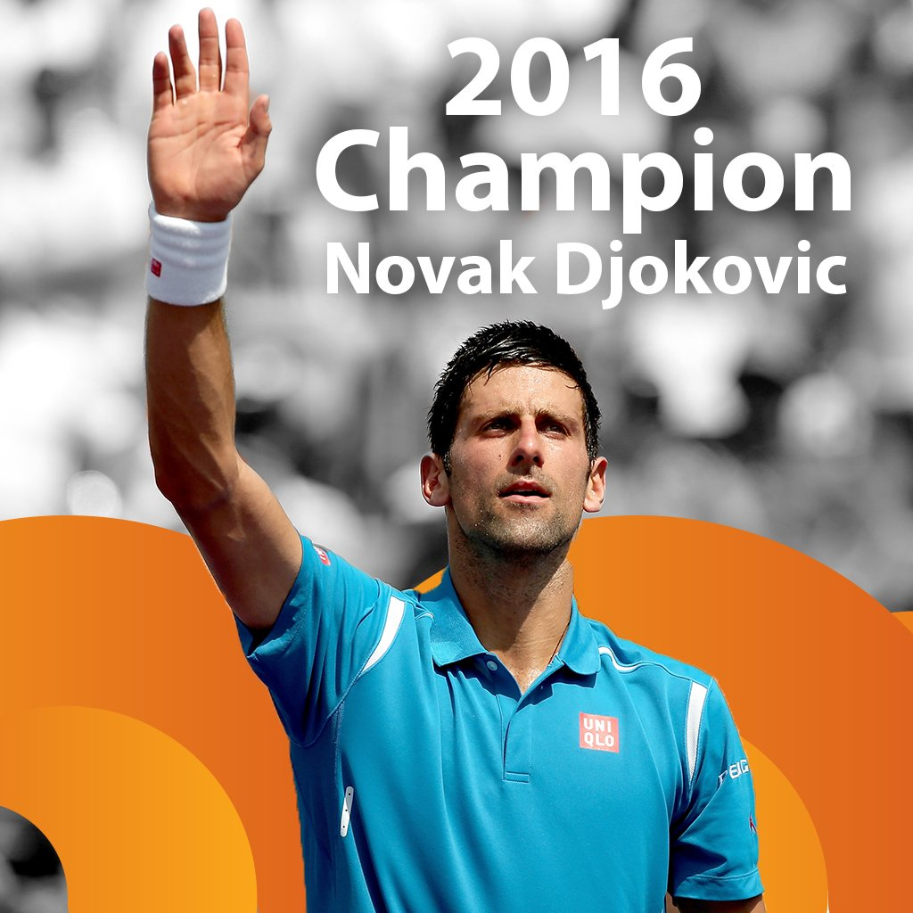 Another one!  Novak Djokovic wins the #MiamiOpen for the third year in a row. https://t.co/mNOXqRWQBi