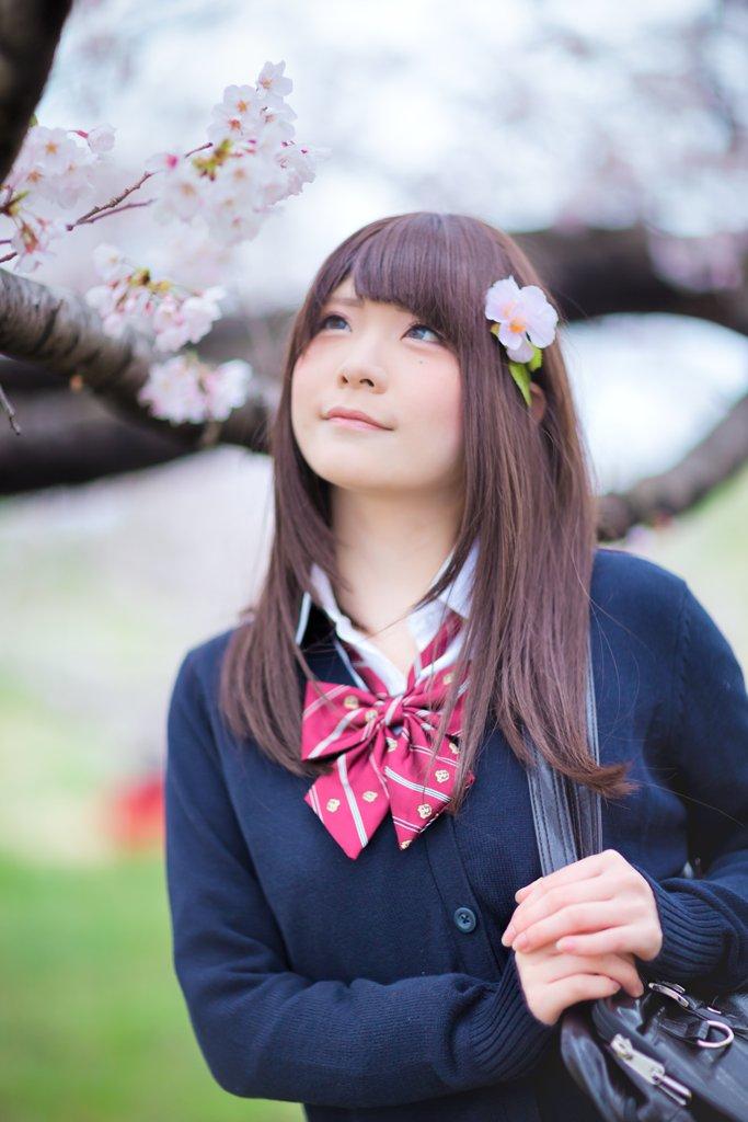04/03 Trick桜ポトレ撮影会 2部唄汰音おれぱさん() #桜trick