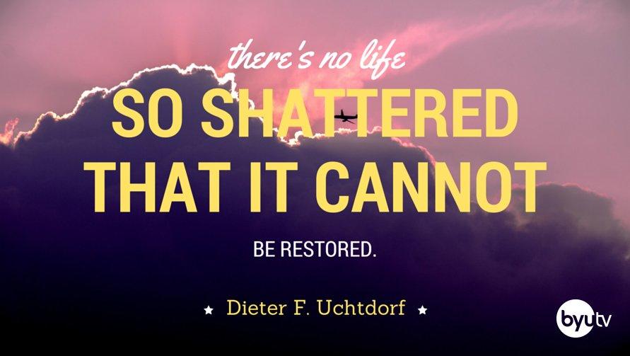 All mankind may be saved. #PresUchtdorf #LDSconf #BYUtv https://t.co/egjO9JGUZZ