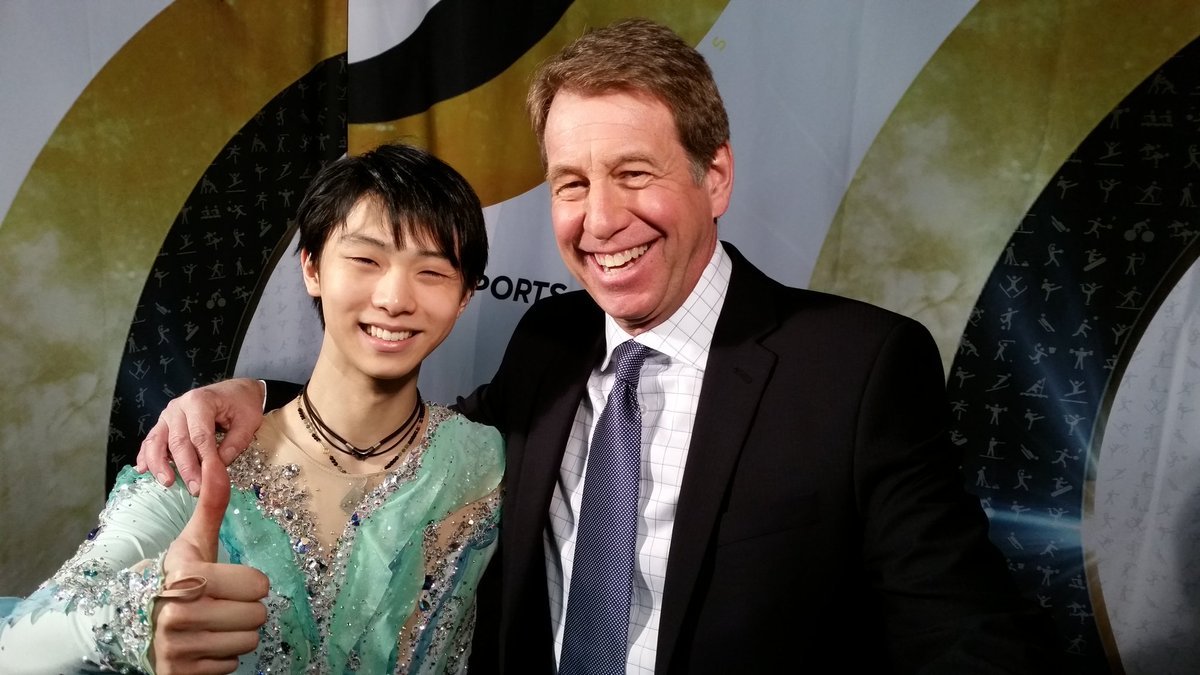 The @Olympics Champ treasures his connection to @Canada #YuzuruHanyu Good luck my friend #Worlds2016 @cbcsports @cbc https://t.co/NXsIFhqVhL