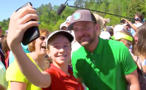 Justin Timberlake and Niall Horan team up to surprise young golfers: