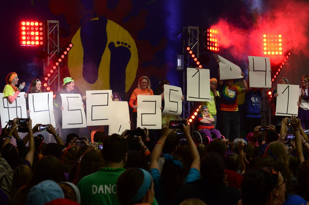 Emotions ran high among participants at #Ziggython2k16 as they reveal their amount raised: $452,251.41 https://t.co/mgfXbZzoPc