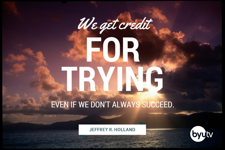 Never give up on yourself. #ElderHolland #LDSconf BYUtv https://t.co/cgHJQWVl88