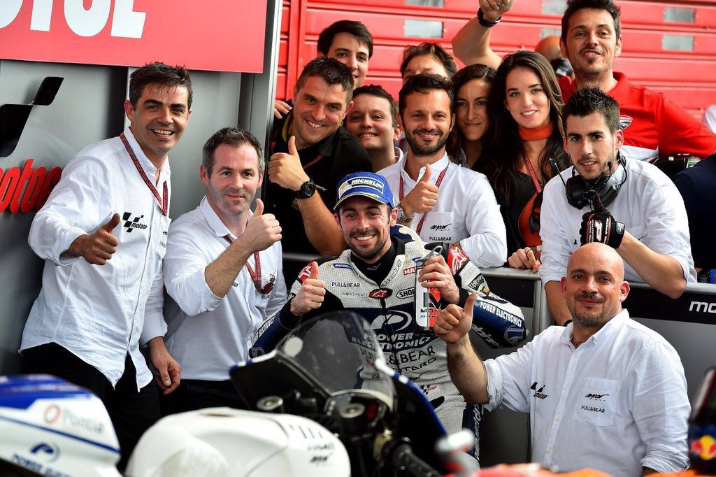 WHAT A DAY! 4th position in @MotoGP! Big thank you to these legends @asparteam for keeping the faith, we did it