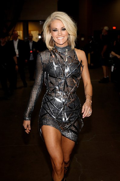 The world is her runway! Check out @carrieunderwood backstage at the #ACMs; https://t.co/BJDww3cEPY