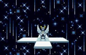 【聖闘士星矢 黄金伝説/バンダイ(1987年)】1対1のターン制戦闘とサイドビューのACT風のモードの二つのシステムを融